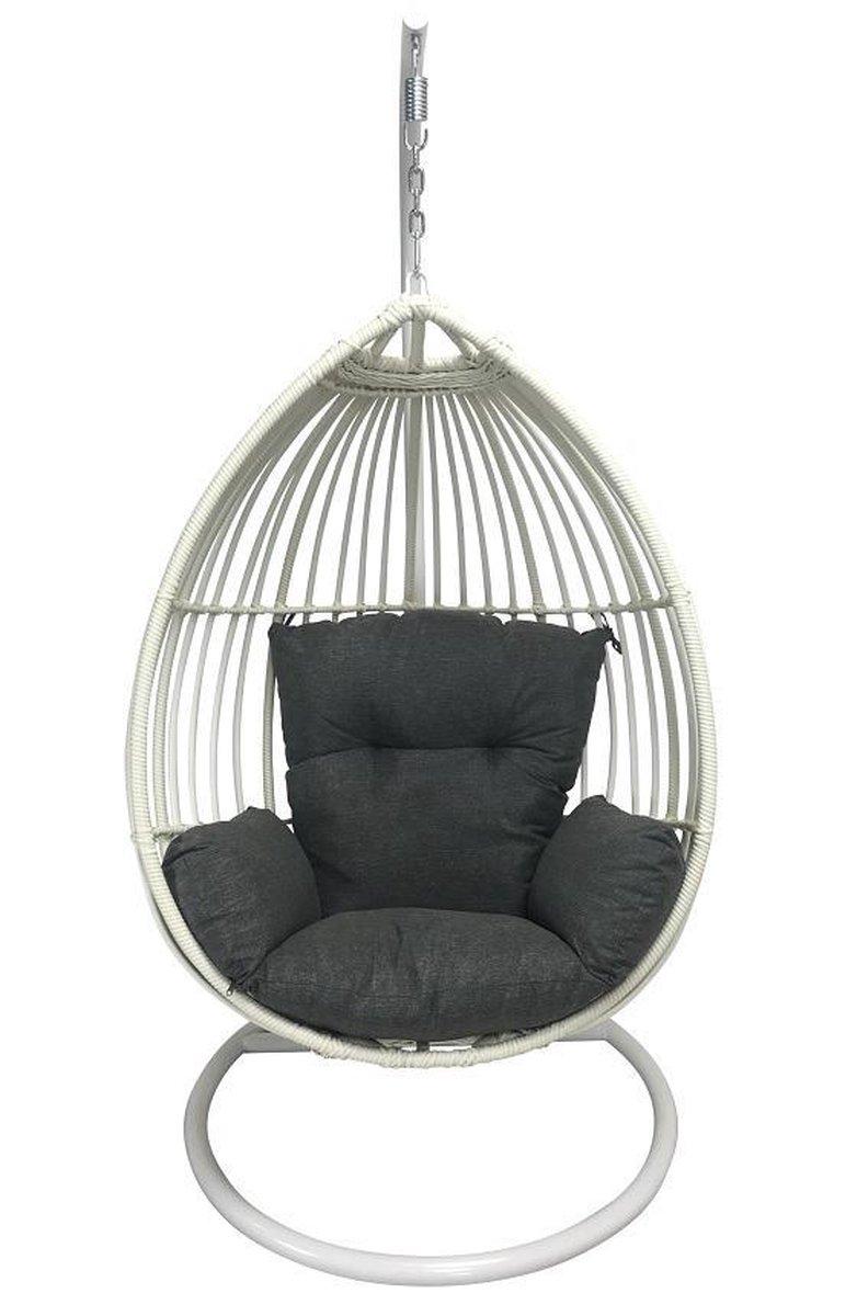 Hangstoel Zonder Frame.Bol Com Hangstoel Egg Chair Paris Off White
