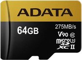ADATA Premier ONE V90 flashgeheugen 64 GB MicroSDXC Klasse 10 UHS-II