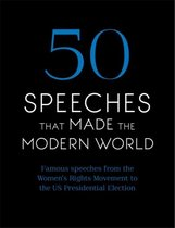 Boek cover 50 Speeches That Made the Modern World van Chambers