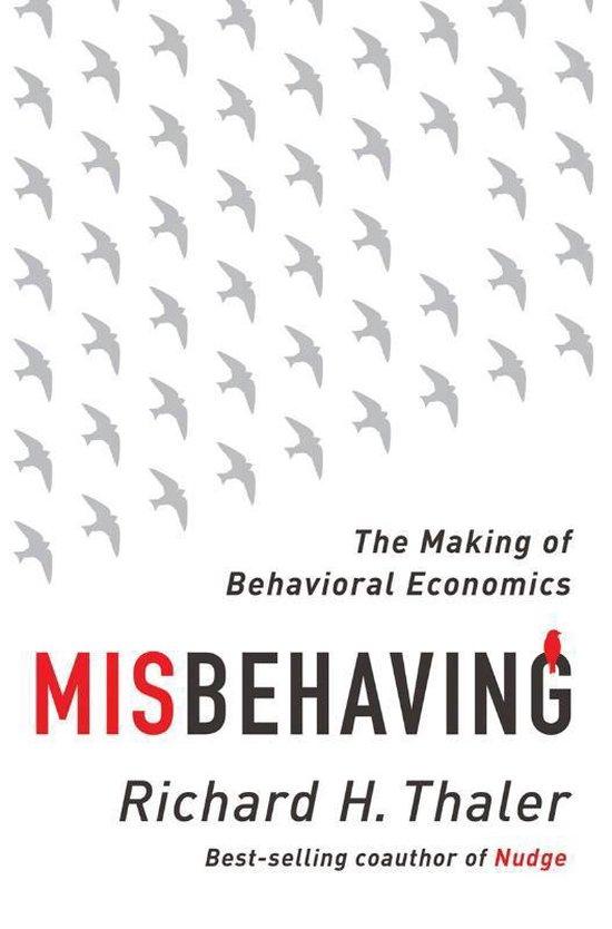 Boek cover Misbehaving van Richard H. Thaler (Hardcover)