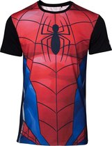 Marvel - Sublimated Spiderman Men's T-shirt - XL