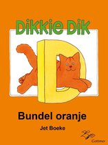 Boek cover Dikkie Dik - Bundel oranje van Arthur van Norden (Onbekend)