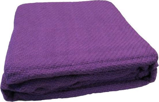 Essenza Chalon - Bedsprei - Eenpersoons - 180x230 - Purple