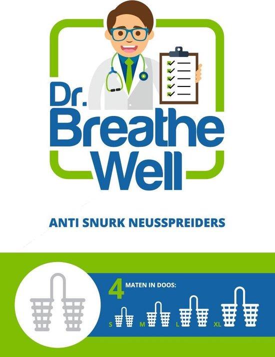 Dr. Breathe Well – 4 maten Anti Snurk Neusspreider