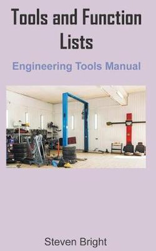Tools and Function Lists Engineering Tools Manual