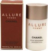 CHANEL ALLURE HOMME DEODORANT STICK 60 g Mannen Stickdeodorant