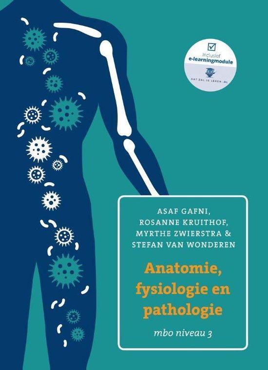 Boek cover Anatomie, fysiologie en pathologie mbo niveau 3 van Asaf Gafni