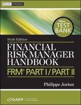 Boek cover Financial Risk Manager Handbook van Philippe Jorion