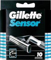 Gillette Sensor - 10 stuks - Wegwerpscheermesjes