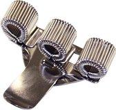 Metalen penhouder voor 3 pennen