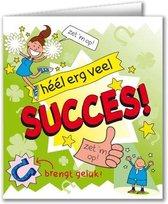 Paperdreams - Wenskaart - Cartoon - Succes