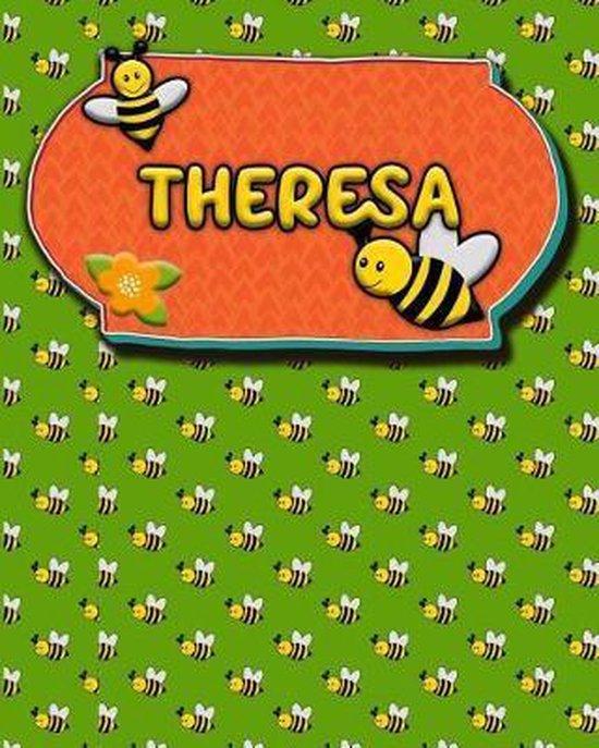 Handwriting Practice 120 Page Honey Bee Book Theresa