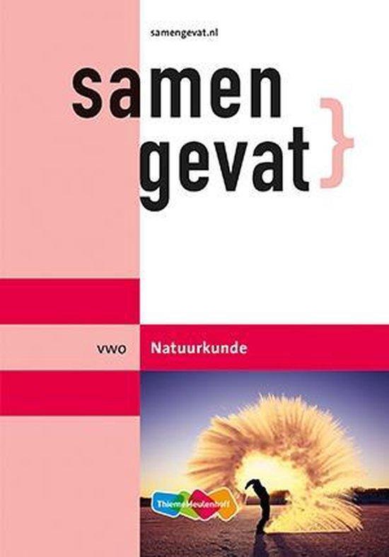 Boek cover Samengevat Vwo Natuurkunde van A.P.J. Thijssen (Paperback)