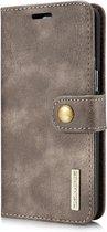 DG.Ming - Samsung Galaxy S8 Hoesje - Uitneembare Wallet case Cabello Grijs