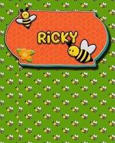 Handwriting Practice 120 Page Honey Bee Book Ricky