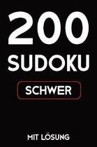 200 Sudoku schwer mit L sung