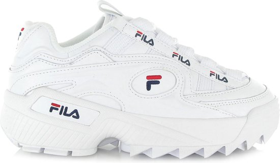 bol.com | Fila Dames Sneakers D-formation Wmn - Wit - Maat 42