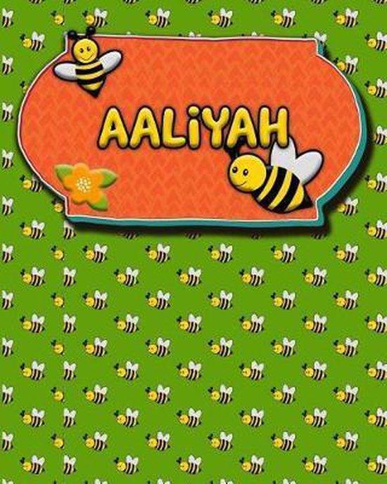 Handwriting Practice 120 Page Honey Bee Book Aaliyah