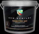 van Schildt Projecttex Muurverf Badkamer Keuken en Vochtige Ruimtes Mat 2.5 Liter Zwart