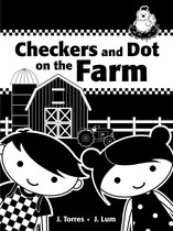 Checkers And Dot At The Farm