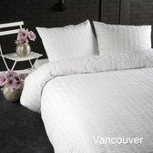 Papillon Vancouver - dekbedovertrek - eenpersoosn - 140 x 200/220 - Wit