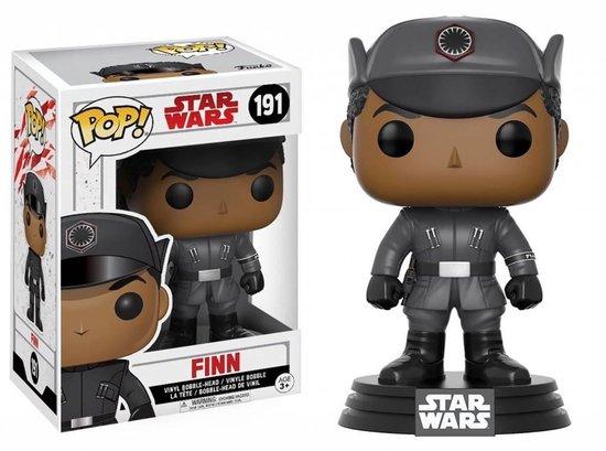 Funko Pop! Bobble: Star Wars: E8 Tlj: Finn - Verzamelfiguur - Funko