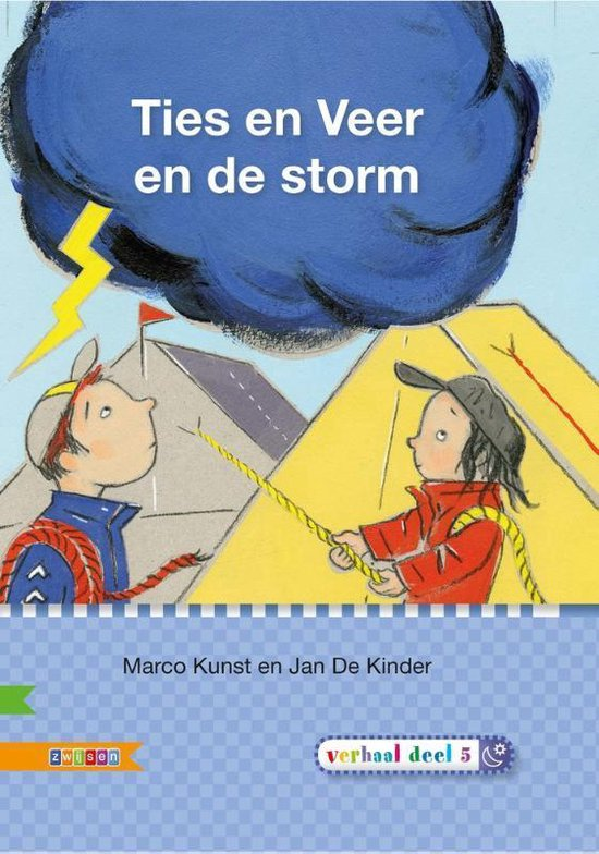 Veilig leren lezen - Ties en Veer en de storm AVI E3 - Marco Kunst |