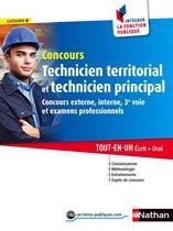 Concours Technicien territorial et Technicien principal - Intégrer la fonction publique - 2016