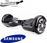 The Scootershop Hoverboard ZWART, SAMSUNG, TAOTAO, 1 jaar garantie