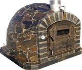 Geisoleerde Pizza Oven Van Natuursteen