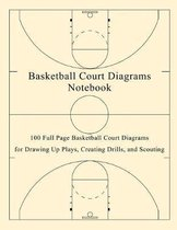 Basketball Court Diagrams Notebook