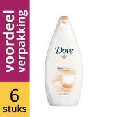 Dove Bad Supreme Silk - 6 x 500ml - Voordeelverpakking