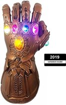 Thanos Infinity Gauntlet | The Avengers | Handschoen | Marvel | LED Lichten | PVC | Carnaval / Halloween