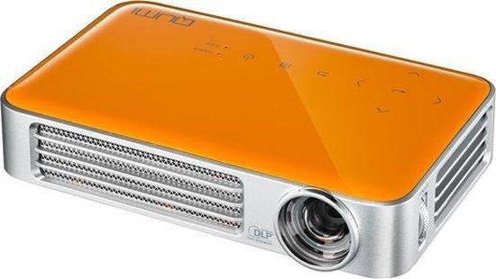 Vivitek Qumi Q6 Draagbare projector 800ANSI lumens DLP WXGA (1280x800) 3D Oranje, Zilver beamer/projector