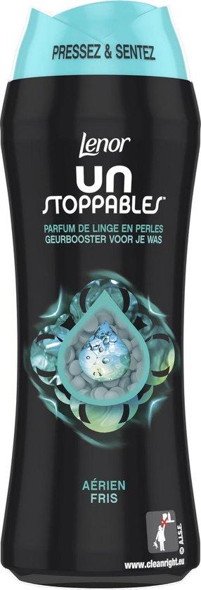 Lenor Unstoppables Geurbooster Fris - Voordeelverpakking 6 x 21 Wasbeurten - Wasmiddel Parfum