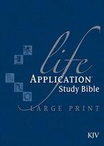 KJV Life Application Study Bible, Large Print, Indexed