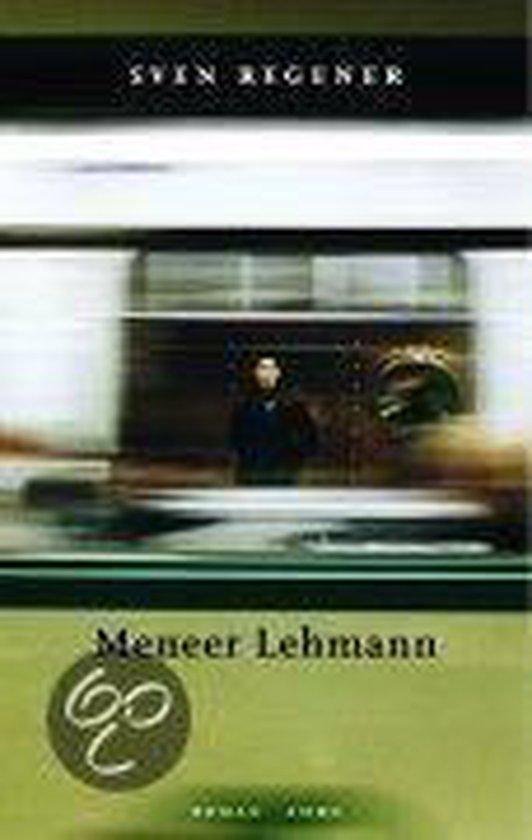Meneer Lehmann - Sven Regener pdf epub