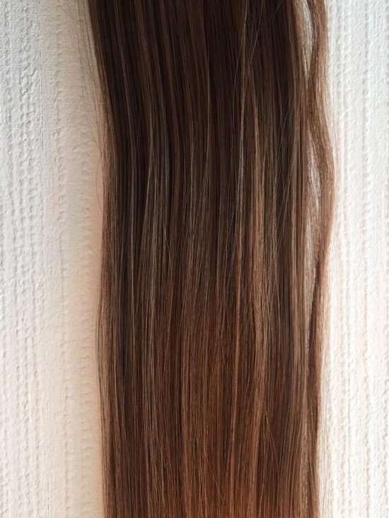 Synthetic clip-In hairextensions sets kleur 4/30
