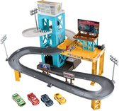 Afbeelding van Cars 3 Garage Inclusief 4 Autos - Speelgoedgarage