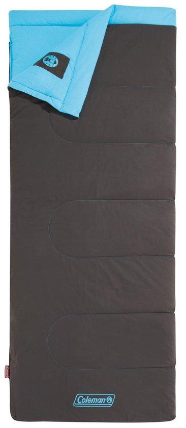 Coleman Heaton Peak Comfort Slaapzak - 205 x 85 cm - Grijs/blauw