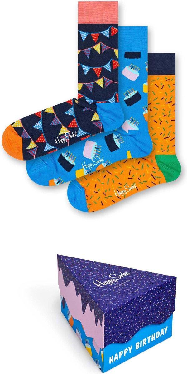 Happy Socks Happy Birthday Giftbox - Maat 36-40