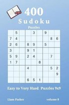 Sudoku - 400 Easy to Very Hard Puzzles 9x9 vol.8