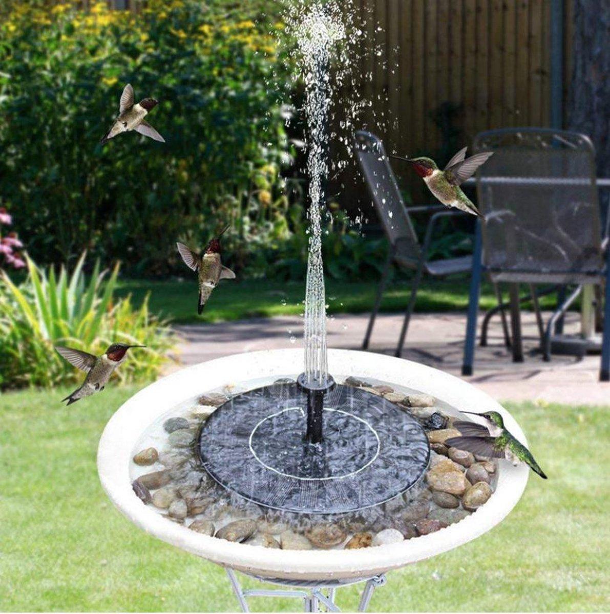 Veex Drijvende Zonne-energie Fontein - Solar Fontein Pomp