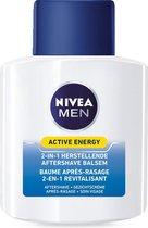 NIVEA MEN After shave Balsem Active Energy  2-in-1 - 100 ml