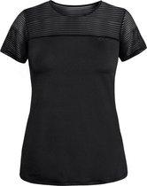Rohnisch Miko Tee Dames Sportshirt - Black - Maat XXXL