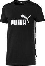 PUMA Amplified Tee G Vest Kinderen - Puma Black - Maat 164