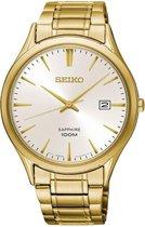 Seiko SGEH72P1 horloge heren - goud - edelstaal doubl�