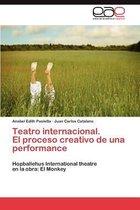 Teatro Internacional. El Proceso Creativo de Una Performance