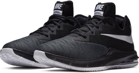 Nike Air Max Infuriate III Low Sportschoenen Maat 45 Mannen zwartwit