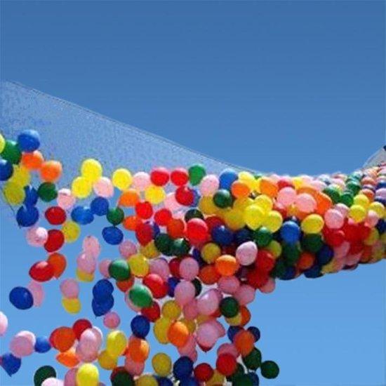 Ballon drop net voor 200 ballonnen